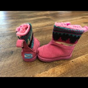 Toms Boots Baby Size 2